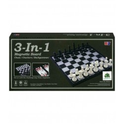 Chess, checkers and backgammon set B10A1 (2484684681195)