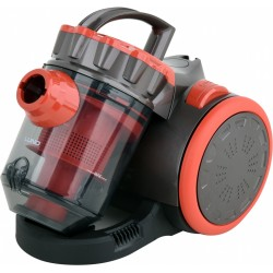 Cyclonic vacuum cleaner 700 W RED 3 BRUSHES (67091)