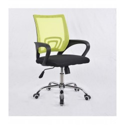 Swivel office chair VANGALOO DM8136, black with green back (8222140641987)