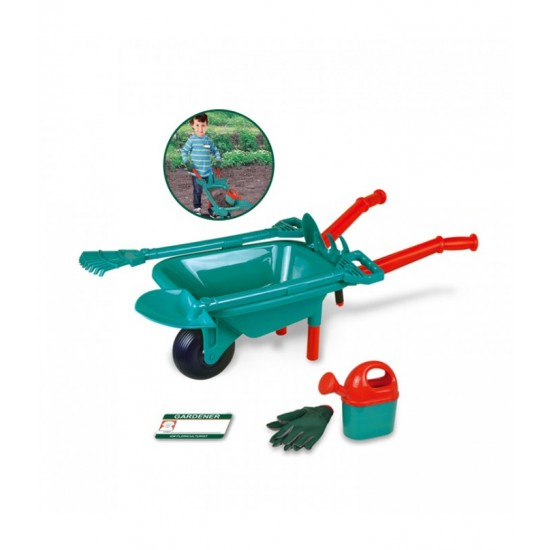 Toy garden set with wheelbarrow T20053 (8941896235065)