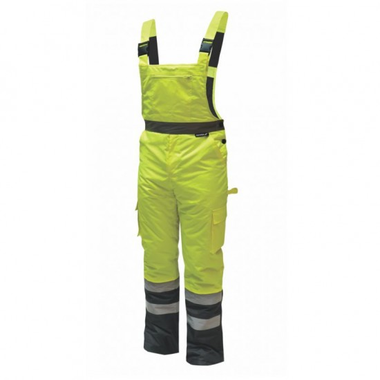 Reflective insulated pants with straps (BH80SO1)