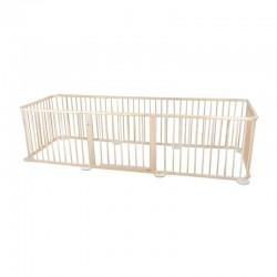 8-part wooden guardrail-arena (5976332984866)