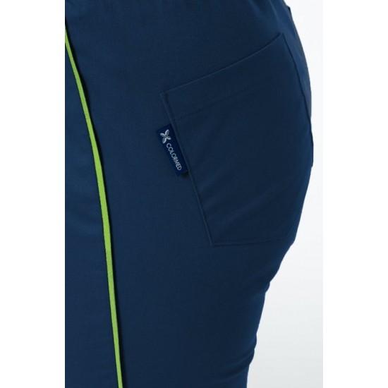 Medical trousers, Soft STRETCH, dark blue (SE4-G2)
