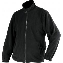Fleece work jacket DURANGO black (YT-80360)
