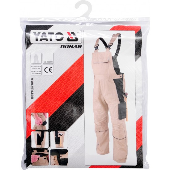 Semi-overalls working DOHAR YATO (YT-80445)