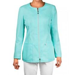 Medical blouse with zipper (ZC1D-JT)