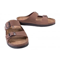 Men's leather slippers Buxa ANATOMIC (BZ410-GB)