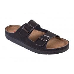 Men's leather slippers Buxa ANATOMIC (BZ410-M)