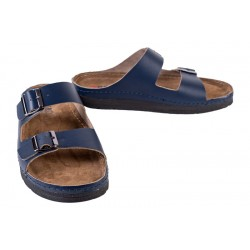 Men's leather slippers Buxa ANATOMIC (BZ410-Z)