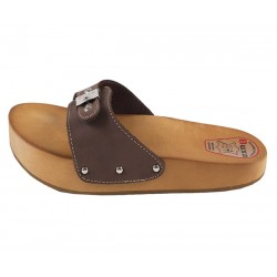 Anti-cellulite and spine health slippers (CE1-BRU)