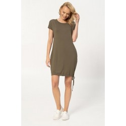Casual dress loose fit, olive (PSK3-Zi3)
