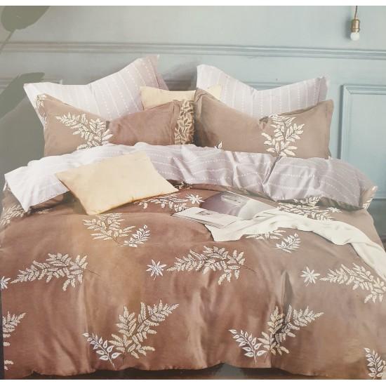 Bed linen set 4 parts 100% cotton (160x200) (GUL1026)