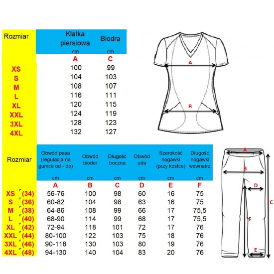 Medical clothing set (M80-G M14-G Mch-G)