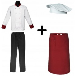 Chef's set (Mg12rd.M12.Mg30.Mg50)