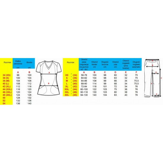 Medical clothing set (M84-BTUR  M14-TUR)