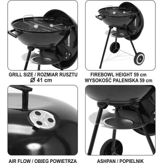 BBQ grill 41cm (99591)