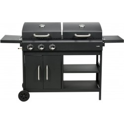 Gas - charcoal grill 2-in-1 (99649)