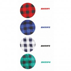 Flannel shirt red, 100% cotton (BH51F1)